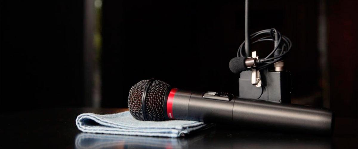 Types of wireless microphones